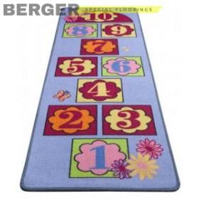 Детская ковровая дорожка Хоп, фото, доставка, укладка, недорого