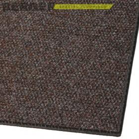 Входной ковер Супер Стар оверлок коричневый, фото, доставка, укладка, недорого