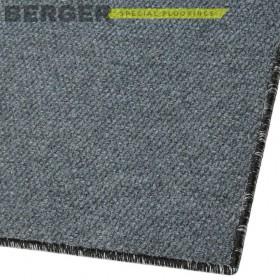 Входной ковер Супер Стар оверлок серый, фото, доставка, укладка, недорого