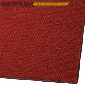 Грязезащитный ковер Super Star красный с оверлоком